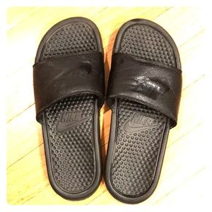 Boy's Nike Slip-On Sandals